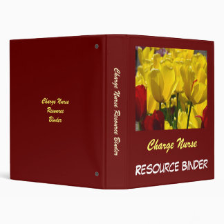 Charge Nurse Resource Binder Tulips Nurses Week