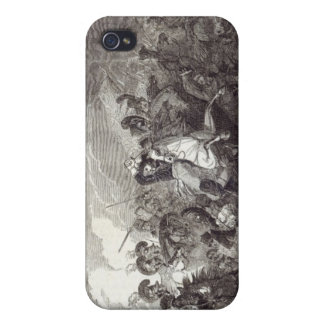 Charge of Lord Somerset's Heavy Brigade iPhone 4/4S Cases