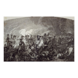 Charge of Lord Somerset's Heavy Brigade Poster