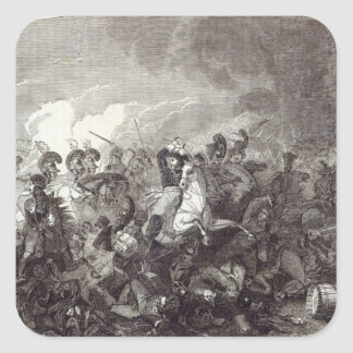 Charge of Lord Somerset's Heavy Brigade Square Sticker