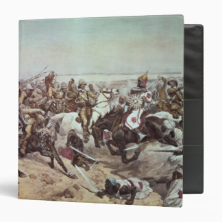 Charge of the 21st Lancers at Omdurman 2 3 Ring Binder