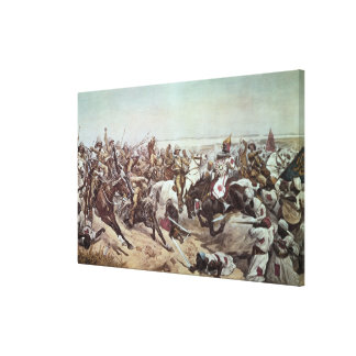 Charge of the 21st Lancers at Omdurman 2 Canvas Prints