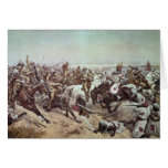 Charge of the 21st Lancers at Omdurman 2 Card