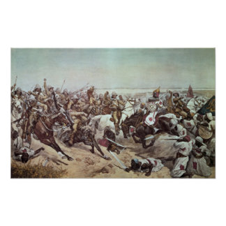 Charge of the 21st Lancers at Omdurman 2 Poster