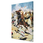 Charge of the 21st Lancers at Omdurman Canvas Prints