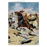 Charge of the 21st Lancers at Omdurman Card