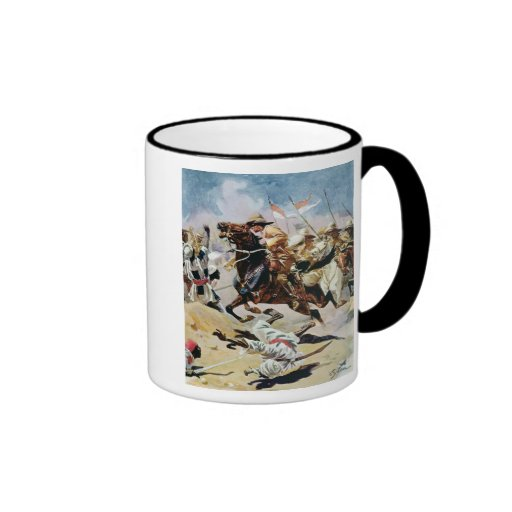 Charge of the 21st Lancers at Omdurman Mugs