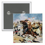 Charge of the 21st Lancers at Omdurman Pinback Button