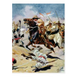 Charge of the 21st Lancers at Omdurman Postcard