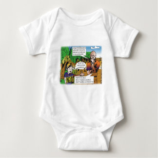 CHARGE of the boy in the vegetable garden quadrinh Baby Bodysuit