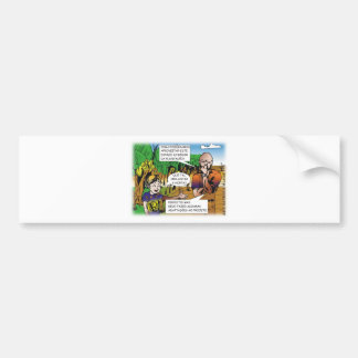 CHARGE of the boy in the vegetable garden quadrinh Bumper Sticker