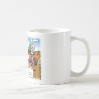 CHARGE of the boy in the vegetable garden quadrinh Coffee Mug