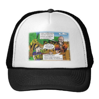 CHARGE of the boy in the vegetable garden quadrinh Trucker Hat