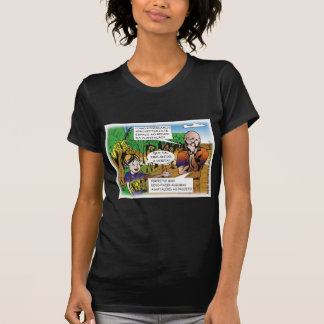 CHARGE of the boy in the vegetable garden T-Shirt