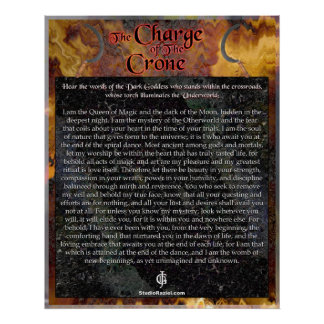 Charge of The Crone Poster