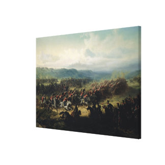 Charge of the Light Brigade, 25th October 1854 Canvas Print