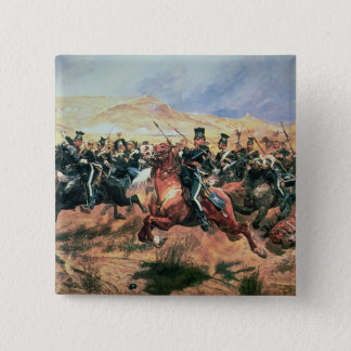Charge of the Light Brigade Button