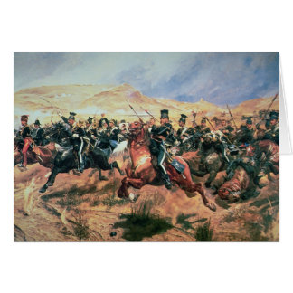 Charge of the Light Brigade Card