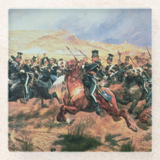 Charge of the Light Brigade Glass Coaster