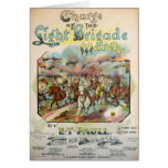 Charge of the Light Brigade March Card