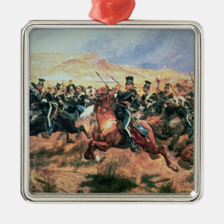 Charge of the Light Brigade Metal Ornament