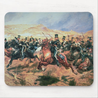 Charge of the Light Brigade Mouse Pad
