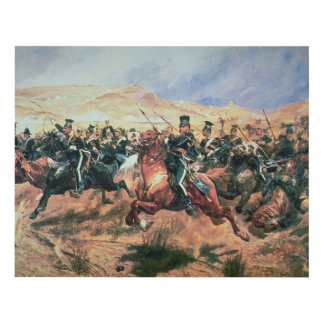 Charge of the Light Brigade Panel Wall Art