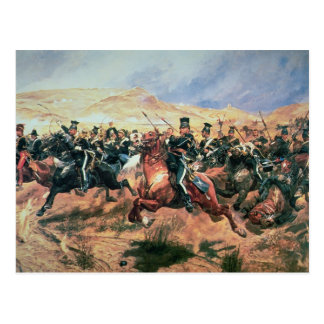 Charge of the Light Brigade Postcard