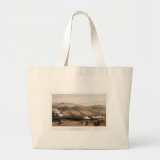 Charge of the Light Cavalry Brigade by Simpson Large Tote Bag