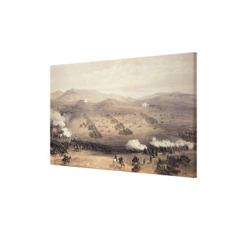 Charge of the Light Cavalry Brigade Canvas Print