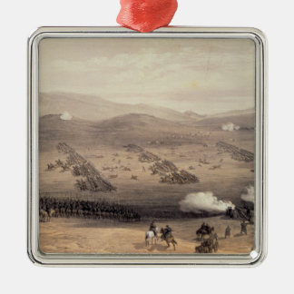 Charge of the Light Cavalry Brigade Metal Ornament