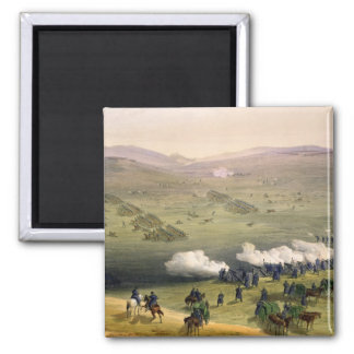 Charge of the Light Cavalry Brigade, October 25th 2 Inch Square Magnet
