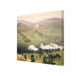 Charge of the Light Cavalry Brigade, October 25th Gallery Wrap Canvas