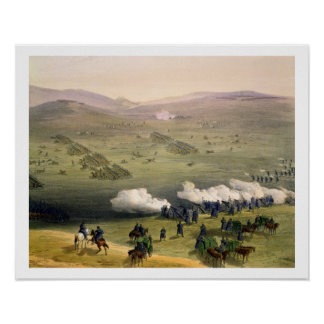 Charge of the Light Cavalry Brigade, October 25th Poster