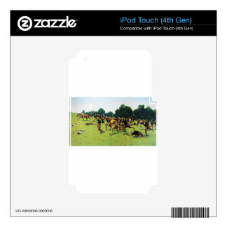 Charge of the Rough Riders at San Juan Hill Skins For iPod Touch 4G