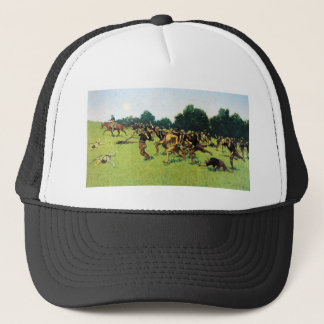 Charge of the Rough Riders at San Juan Hill Trucker Hat
