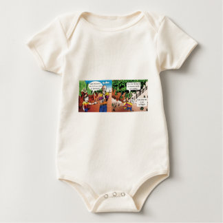 charge quadrinho mathematical of the vegetable gar baby bodysuit
