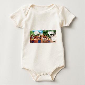 charge quadrinho mathematical of the vegetable gar baby bodysuit