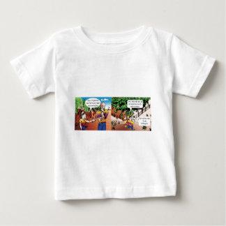 charge quadrinho mathematical of the vegetable gar baby T-Shirt