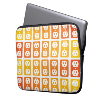 Charge Up Case Laptop Computer Sleeves