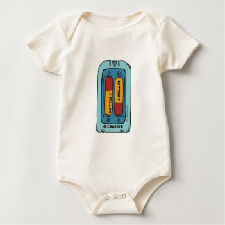 charged baby bodysuit