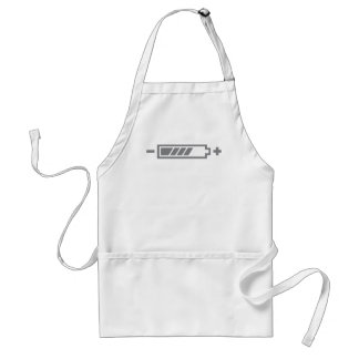 Charged - battery solar hybrid electric adult apron
