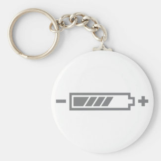 Charged - battery solar hybrid electric keychains