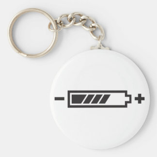 Charged - battery solar hybrid electric key chain