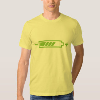 Charged - battery solar hybrid electric t shirt