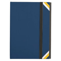 Charged Blue iPad Case
