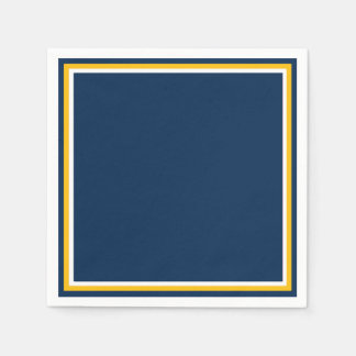 Charged Blue Standard Cocktail Napkin