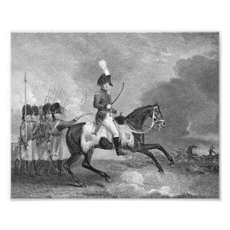 Charger Horse Illustration Photo Print