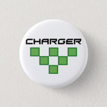 Charger Pinback Button