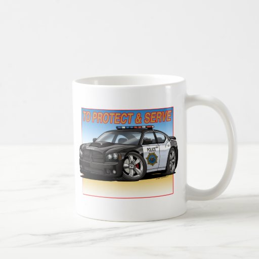 Charger_Police_New Taza Clásica